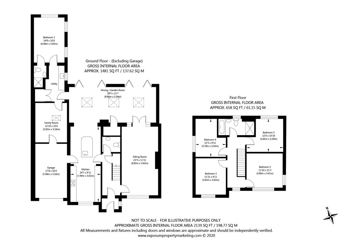 5 bed house for sale in Temple Lane, Copmanthorpe - Property Floorplan