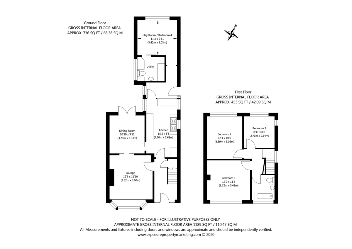 4 bed house for sale in Beechwood Glade, York - Property Floorplan