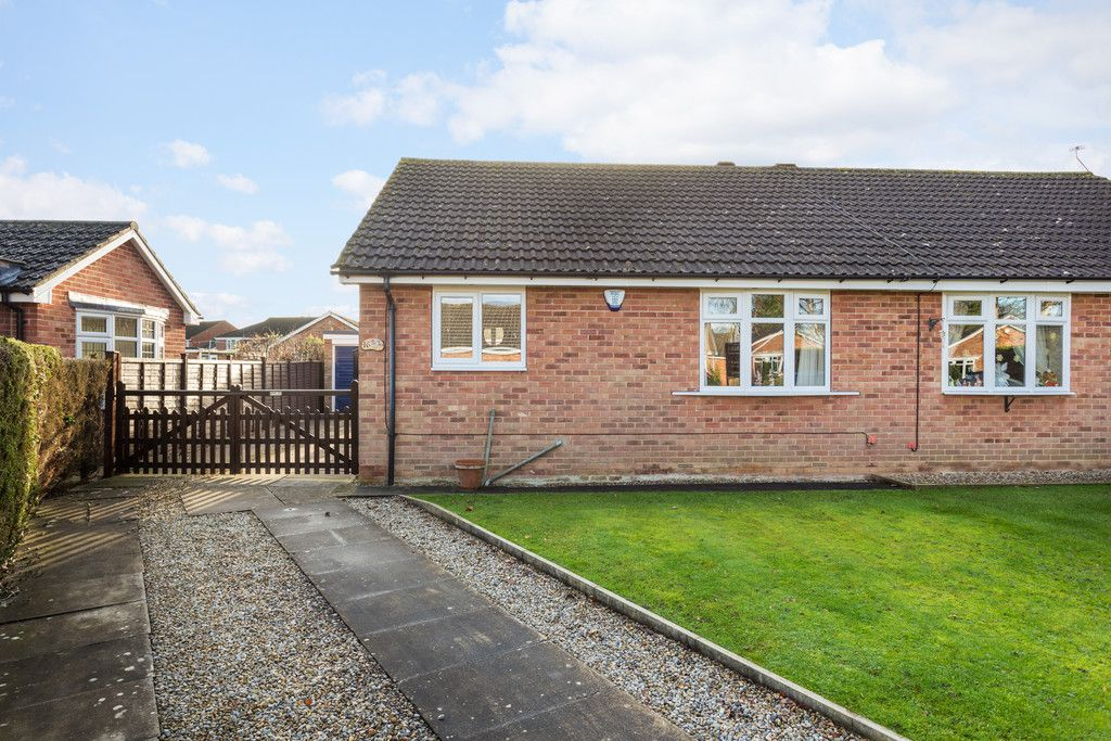 2 bed bungalow for sale in Reygate Grove, Copmanthorpe, York, YO23