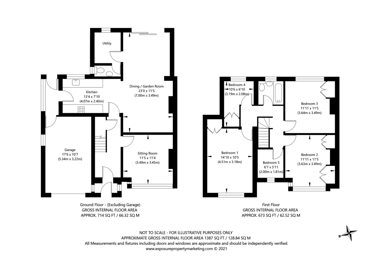 5 bed house for sale in Stutton Road, Tadcaster - Property Floorplan