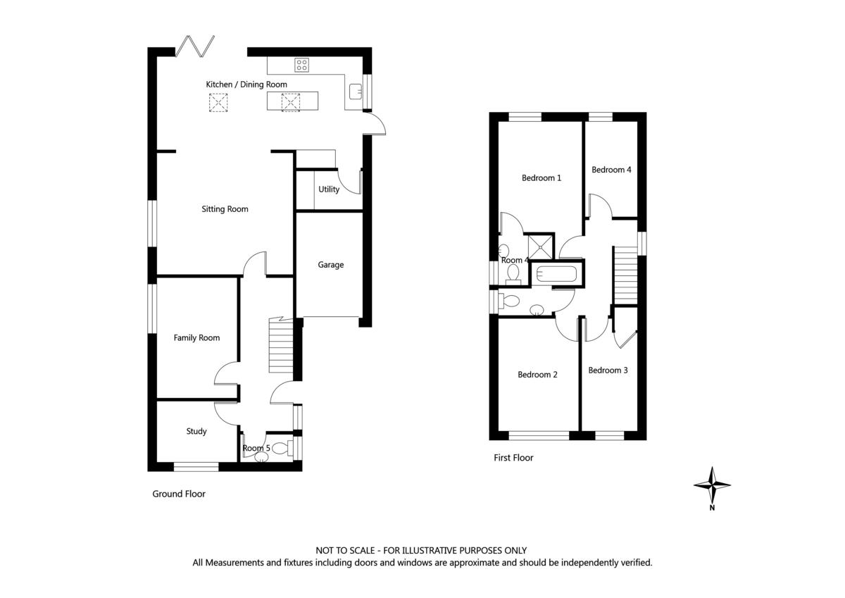 4 bed house for sale in Millers Croft, Copmanthorpe, York - Property Floorplan