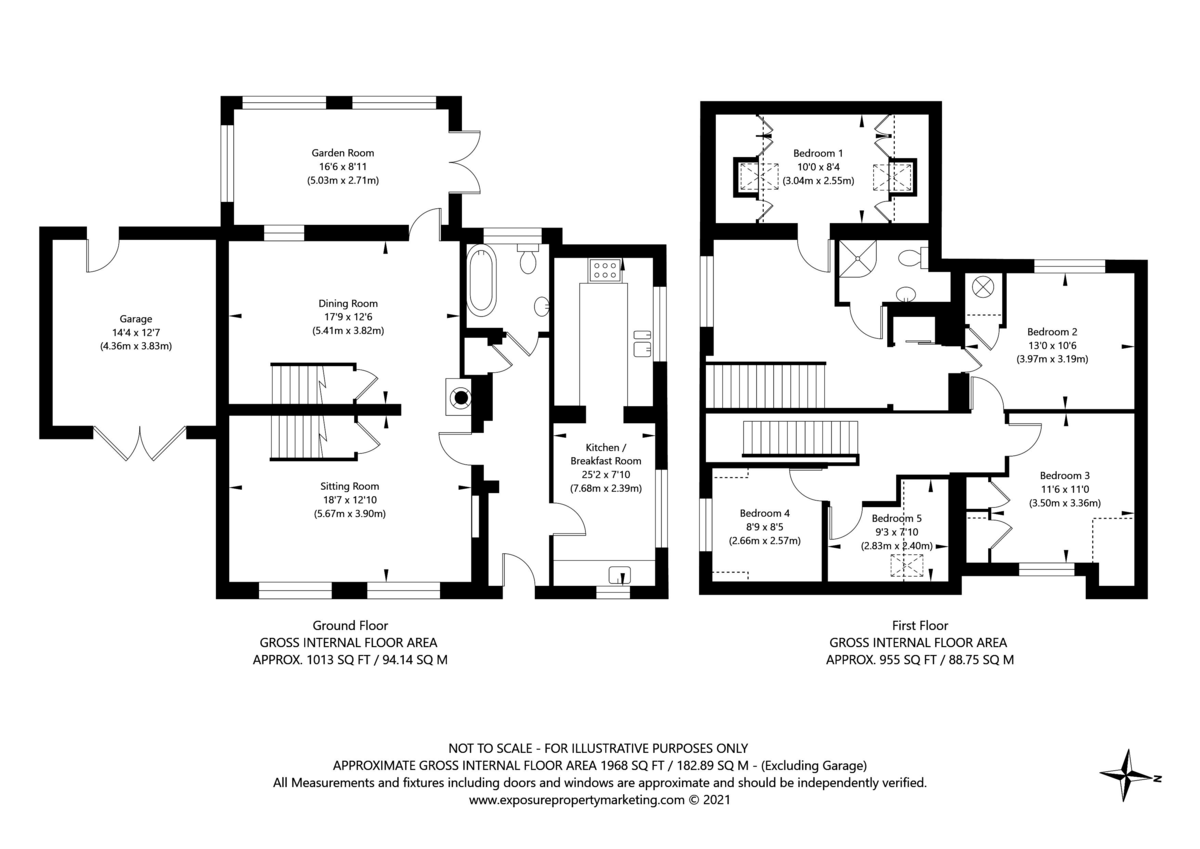 5 bed house for sale in Chapel House, Marsh Lane, Bolton Percy, York  - Property Floorplan