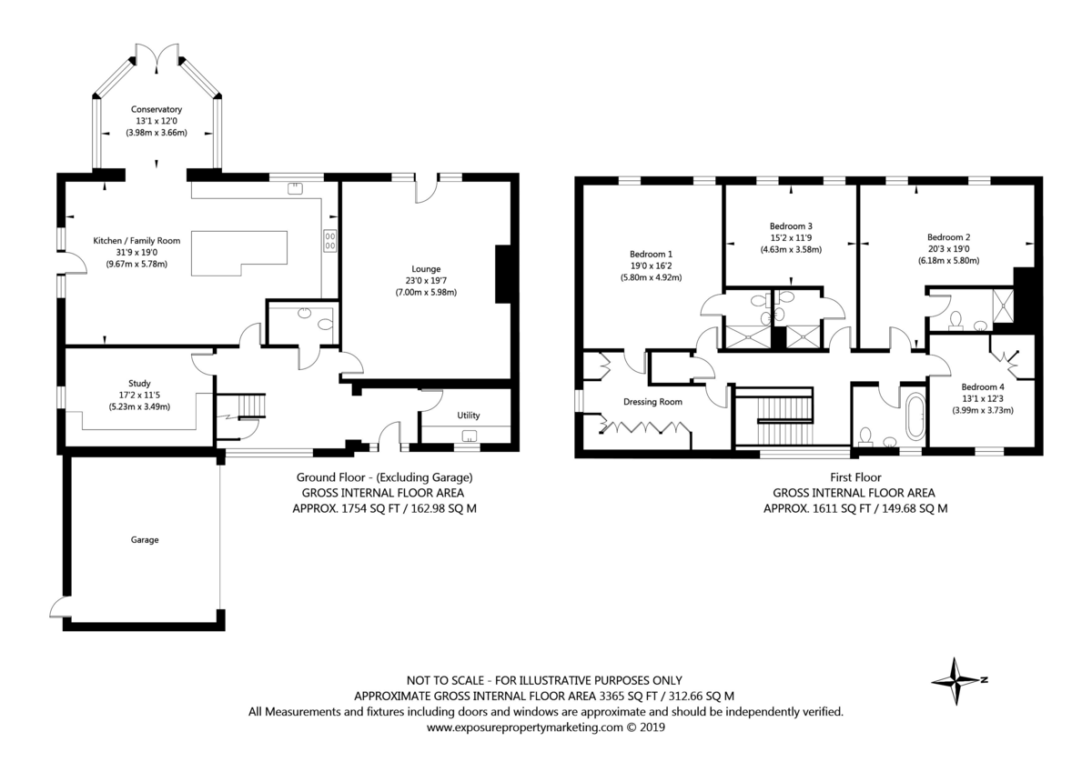 5 bed house for sale in Southfield Grange, Appleton Roebuck, York - Property Floorplan
