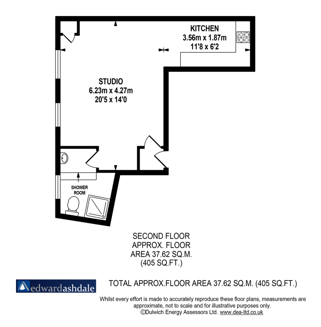 Flat to rent in Norwood Road, Tulse Hill, London - Property Floorplan