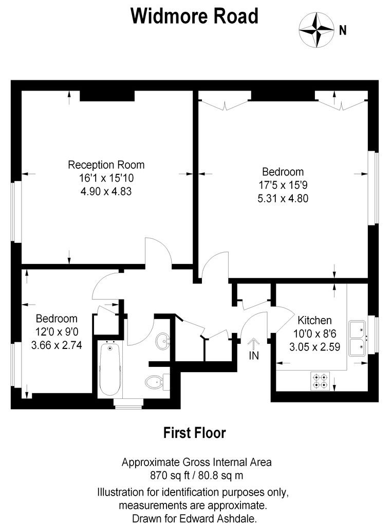 2 bed flat to rent in Widmore Road, Bromley 8