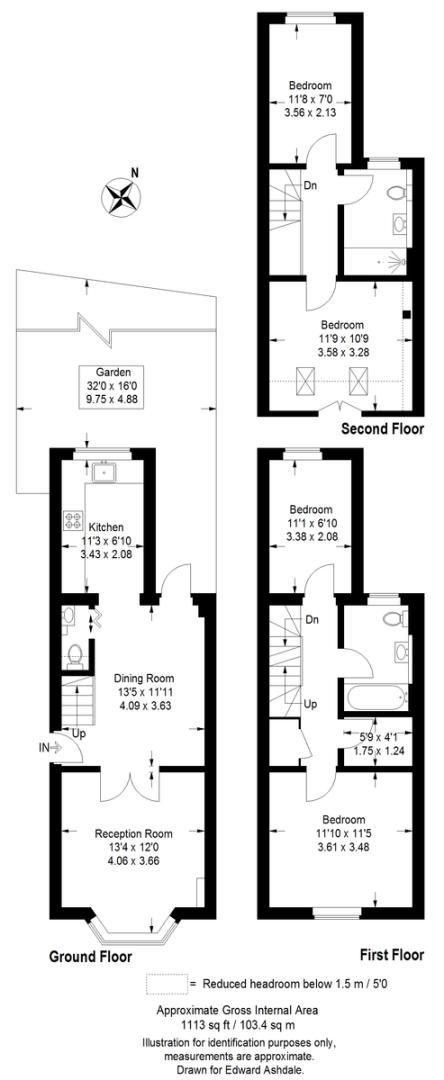 4 bed house for sale in Beckenham Lane, Bromley - Property Floorplan