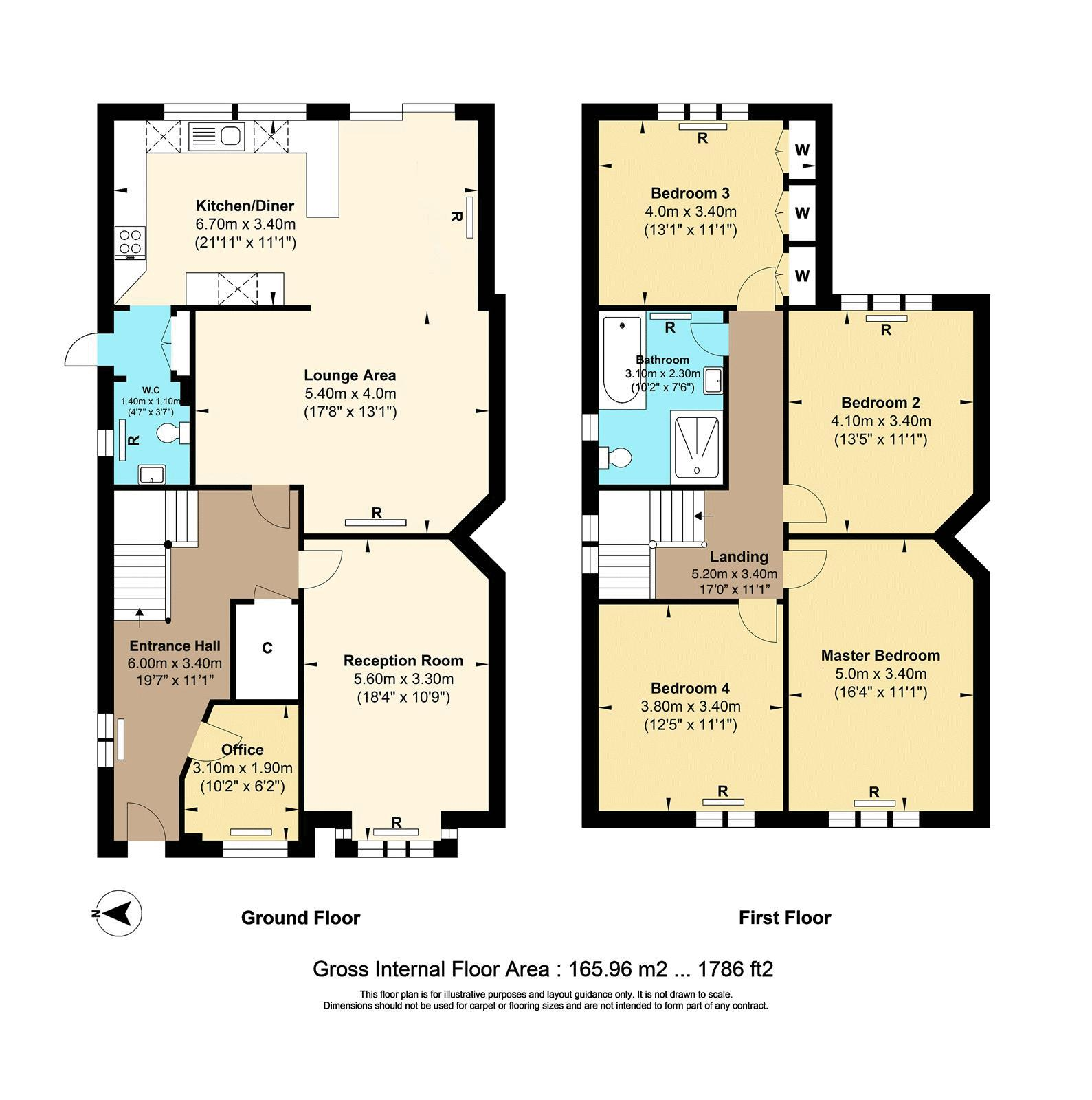 4 bed house for sale in Reigate Road - Property Floorplan