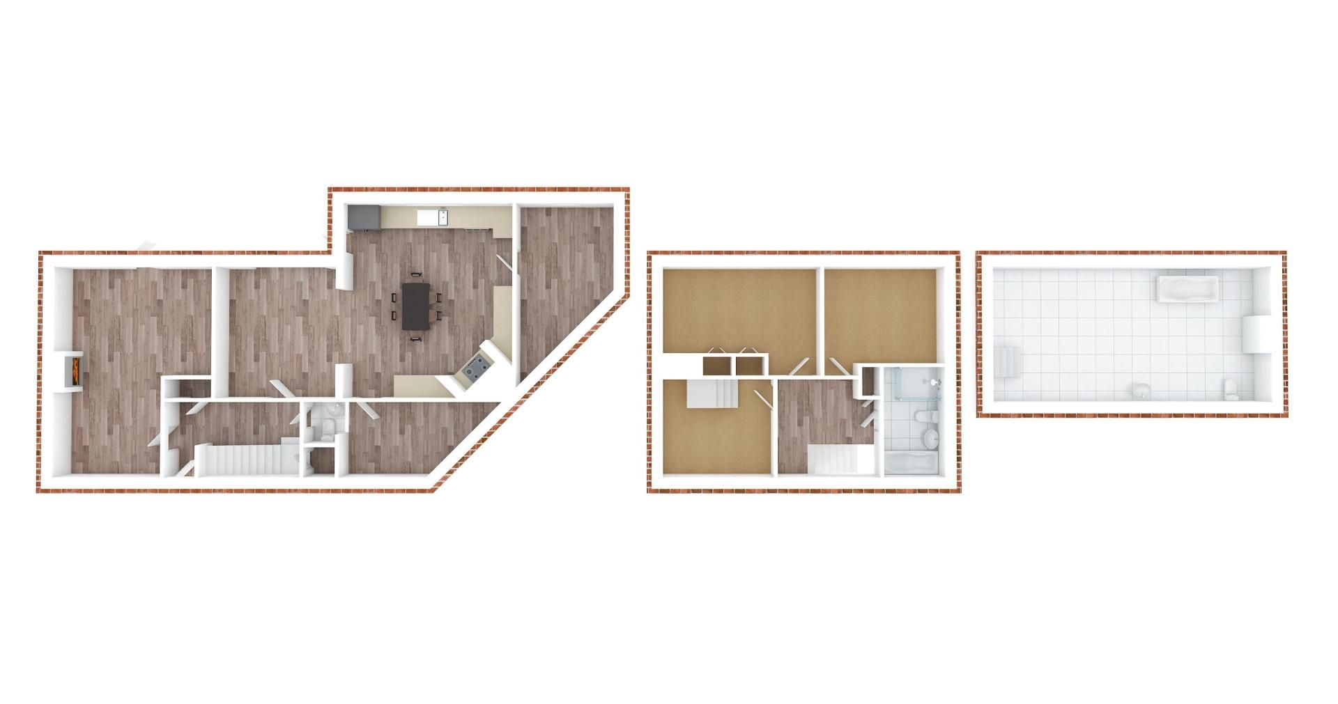 3 bed house for sale in Parsonsfield Close - Property Floorplan