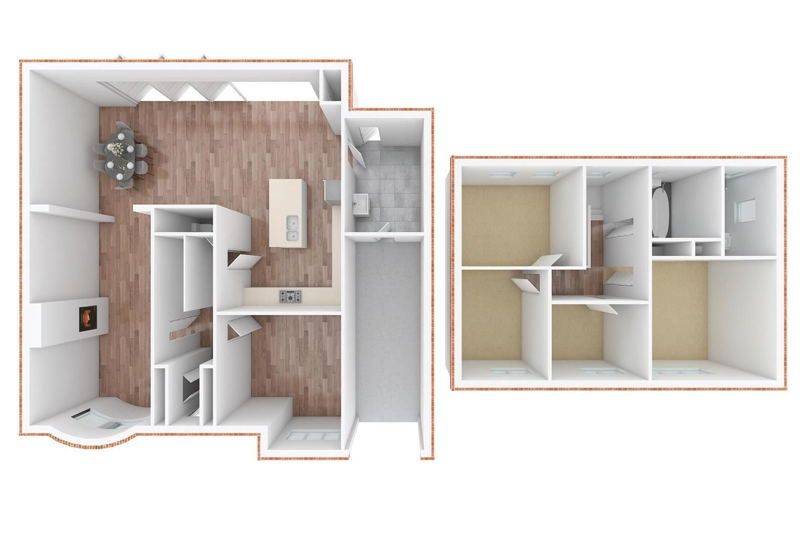 4 bed house for sale in Blue Cedars - Property Floorplan