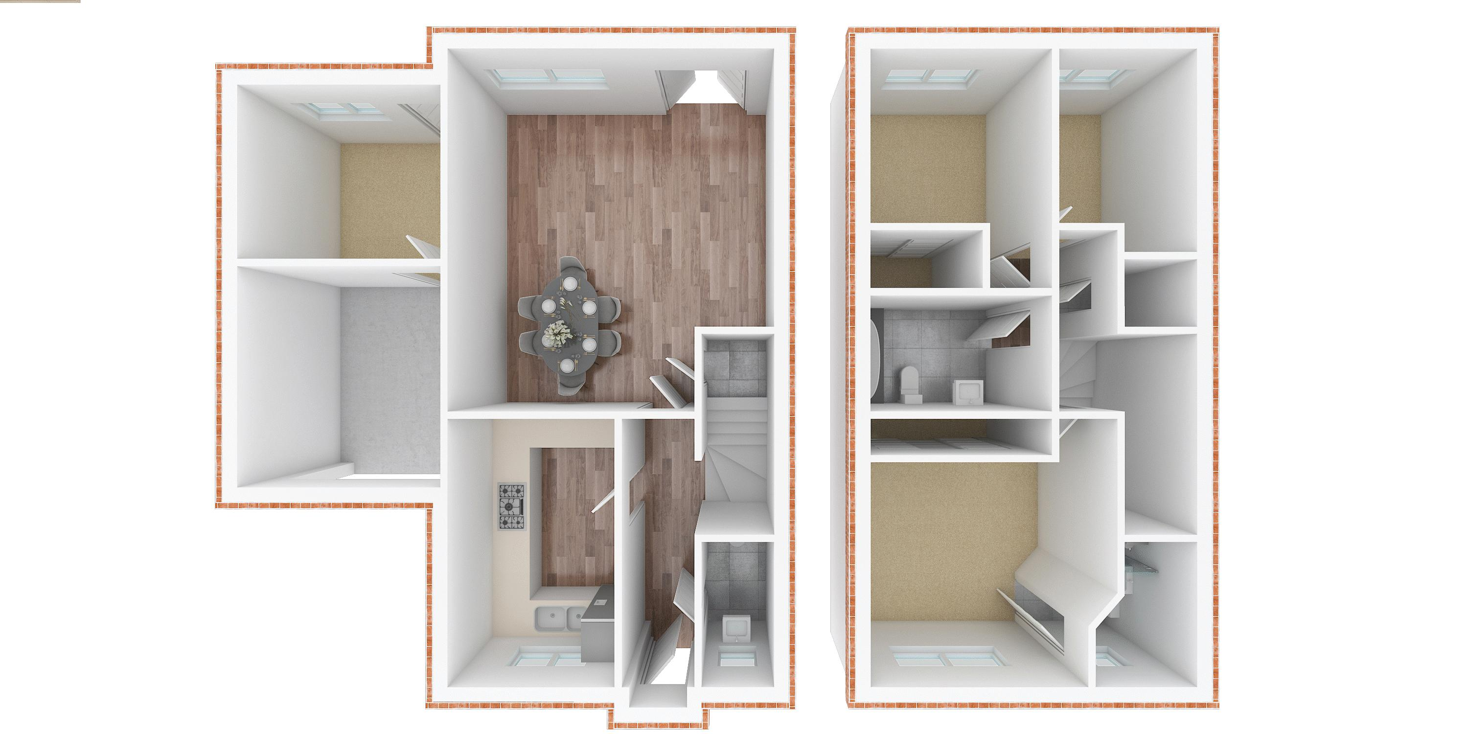 3 bed house for sale in Whitebeam Close - Property Floorplan