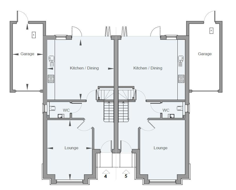 4 bed house for sale in Hornbeam Close - Property Floorplan