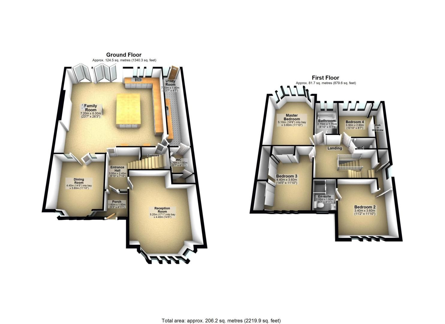 4 bed house for sale in Fir Tree Road - Property Floorplan