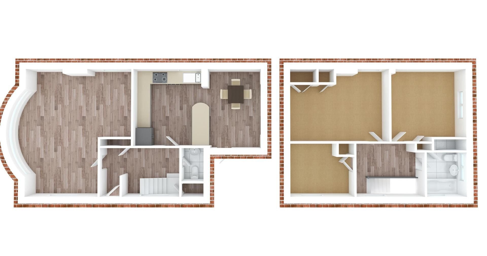 3 bed house for sale in Roundwood Way - Property Floorplan