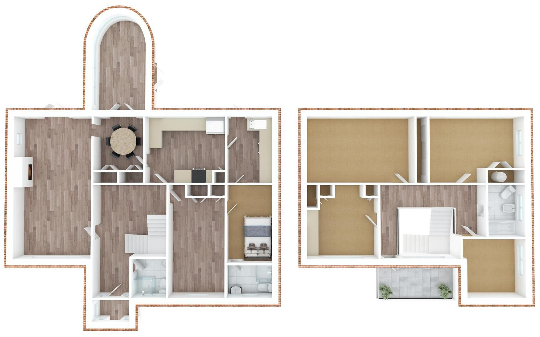 5 bed house for sale in Nork Gardens - Property Floorplan