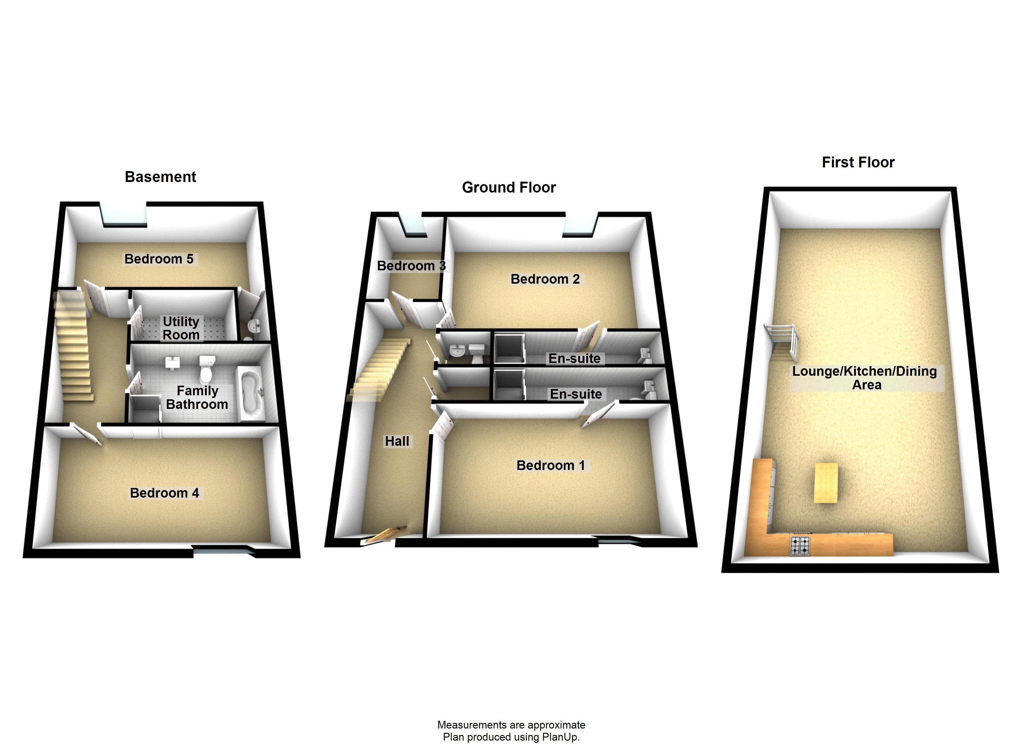 5 bed house to rent in Salisbury Road - Property Floorplan