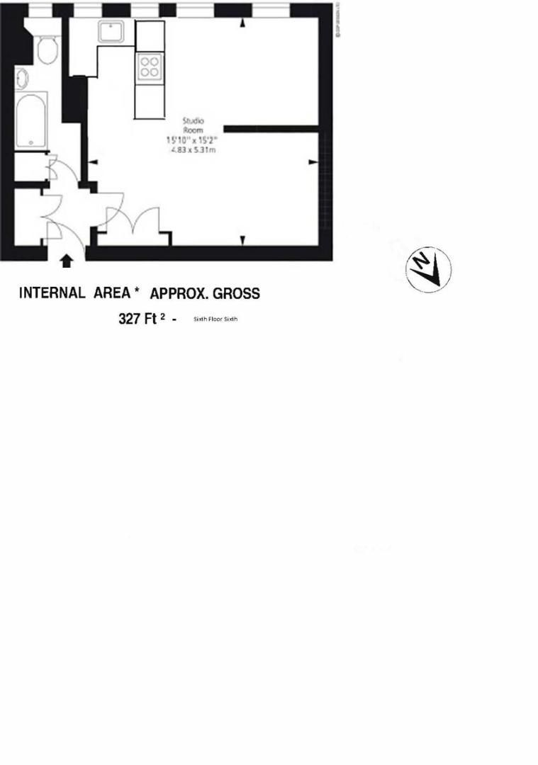 Flat to rent in Sloane Avenue Mansions - Property Floorplan
