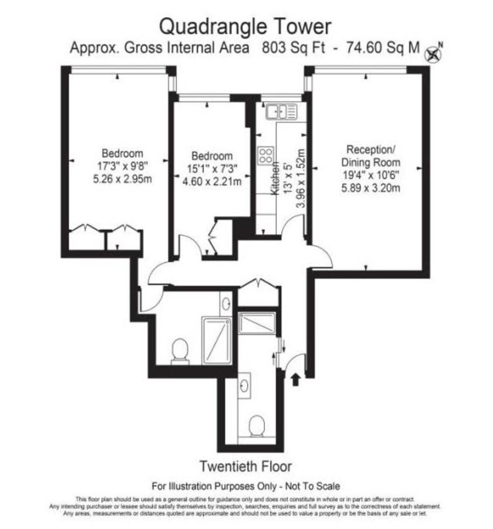 The Cambridge Bryanston To Rent 1 Bedroom