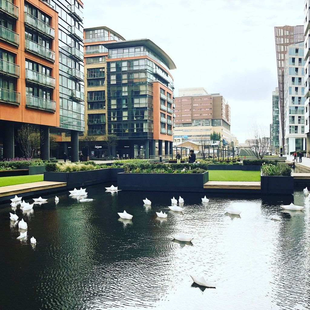 1 bed flat to rent in Merchant Square, London 7