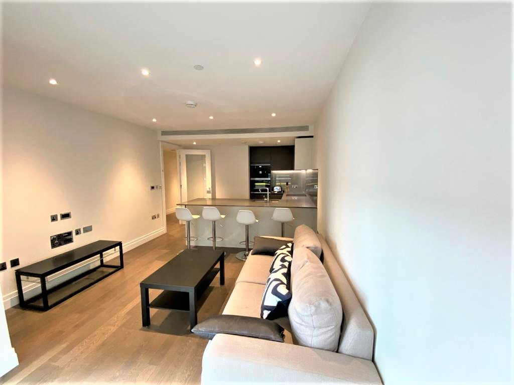 2 bed flat to rent in Riverlight Quay, London 1
