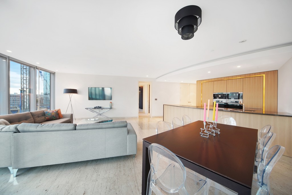2 bed flat for sale in The Tower, St. George Wharf, London  - Property Image 3