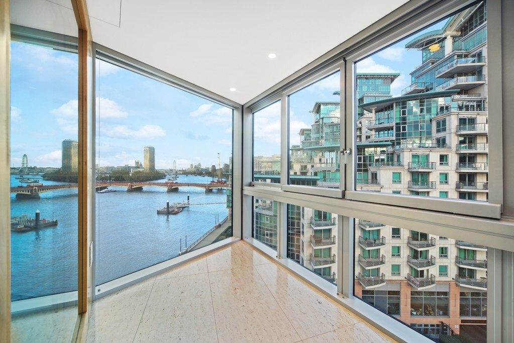 2 bed flat for sale in The Tower, St. George Wharf, London 9