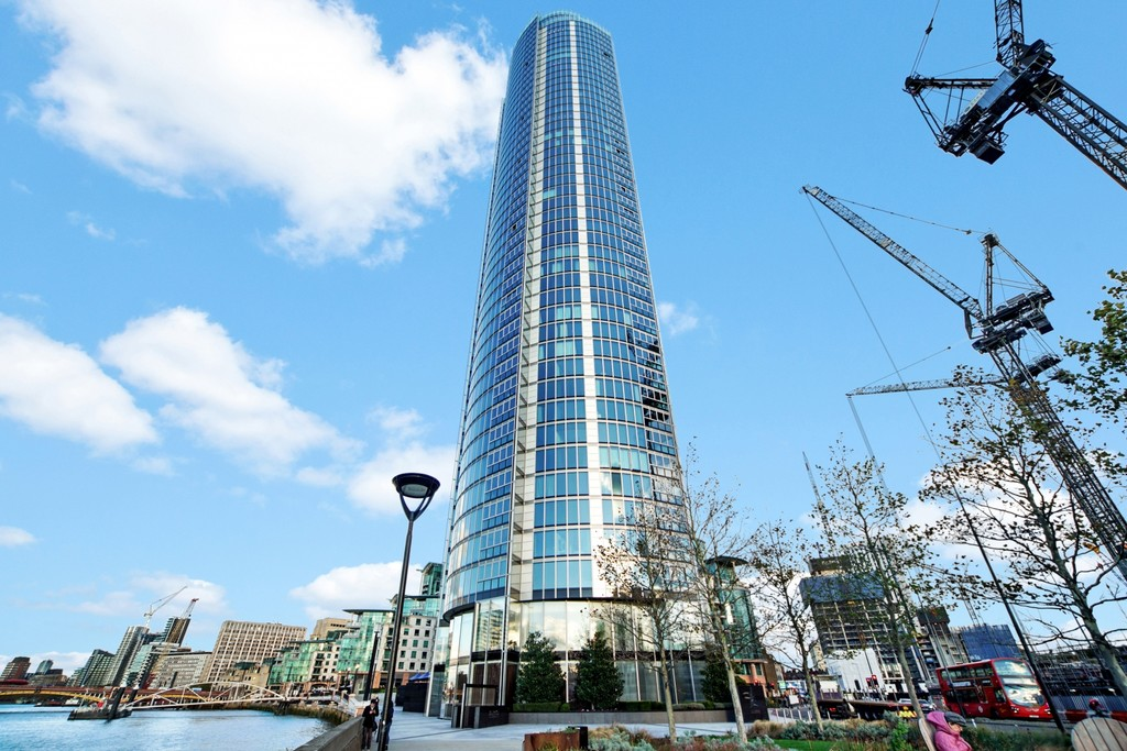 2 bed flat for sale in The Tower, St. George Wharf, London 10