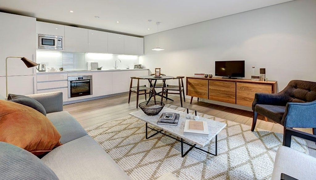 1 bed flat to rent in Merchant Square East, London, W2