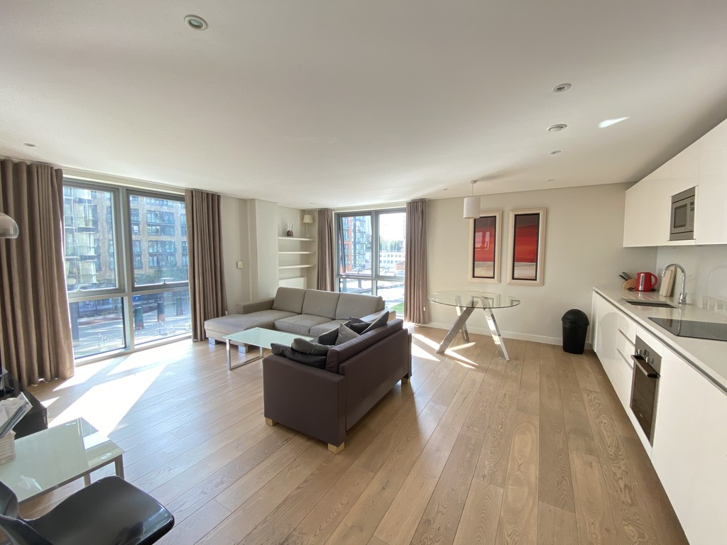 2 bed flat to rent in Merchant Square East 1