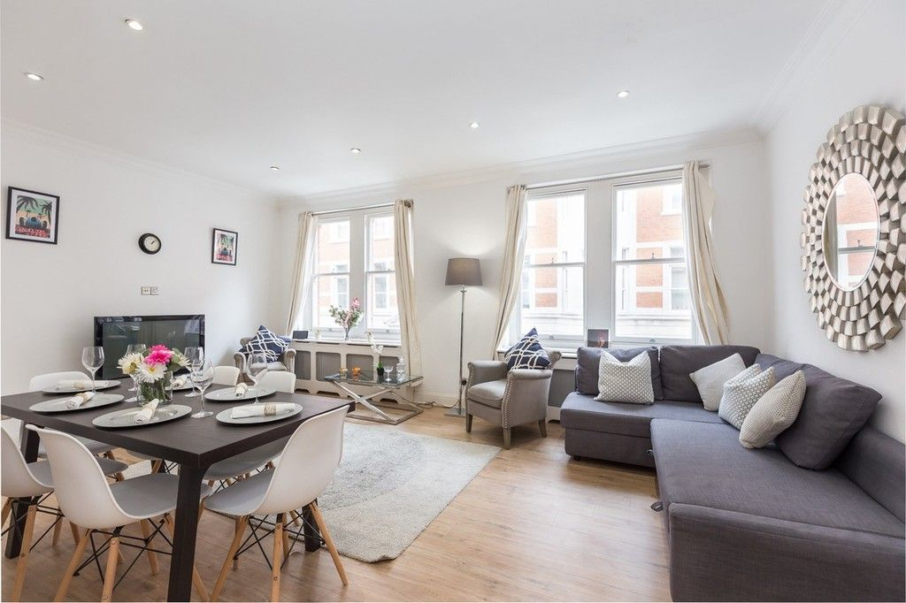 3 bed flat to rent in Nassau Street, London 1