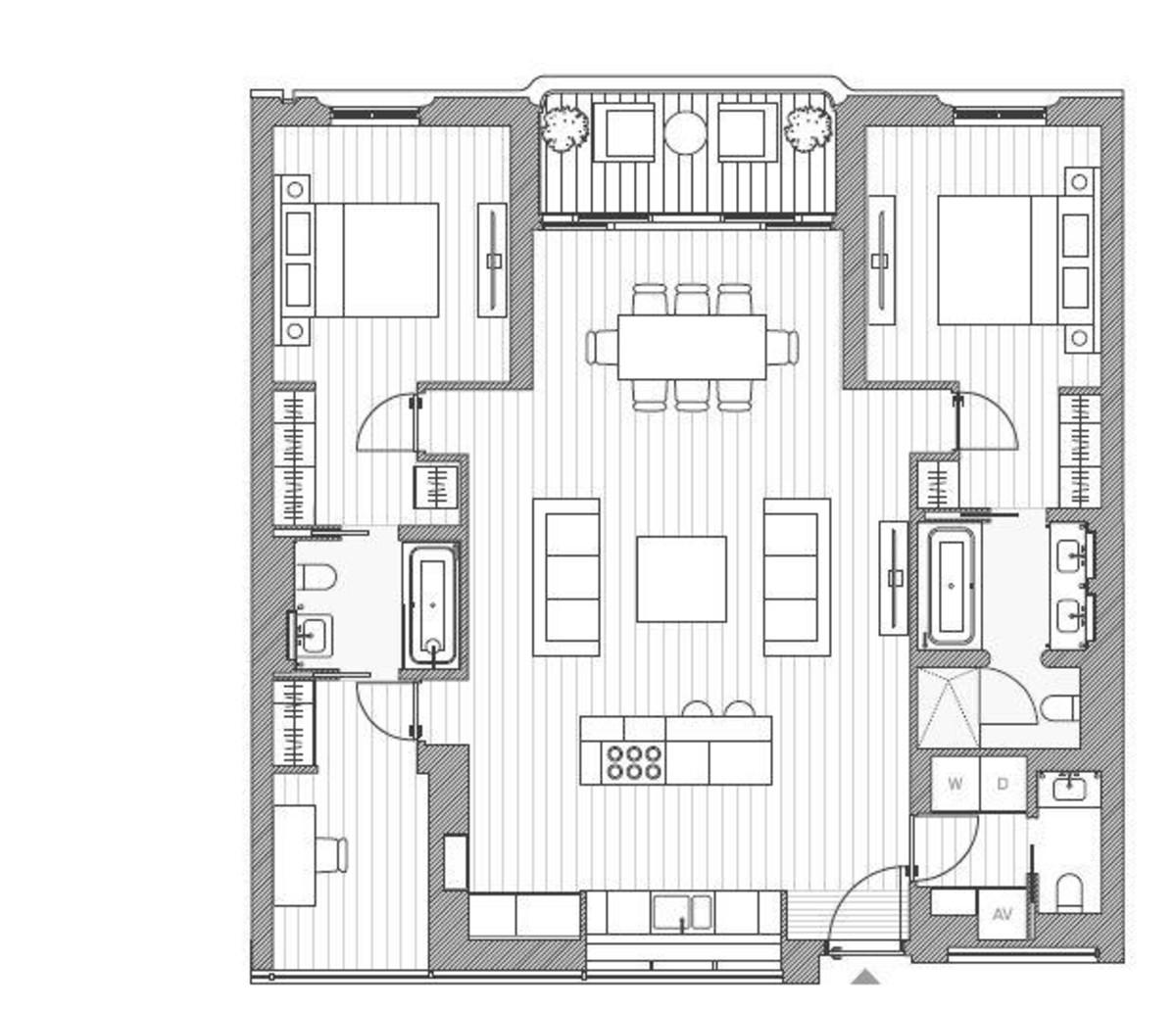 2 bed flat for sale in Moxon Street, Marylebone - Property Floorplan