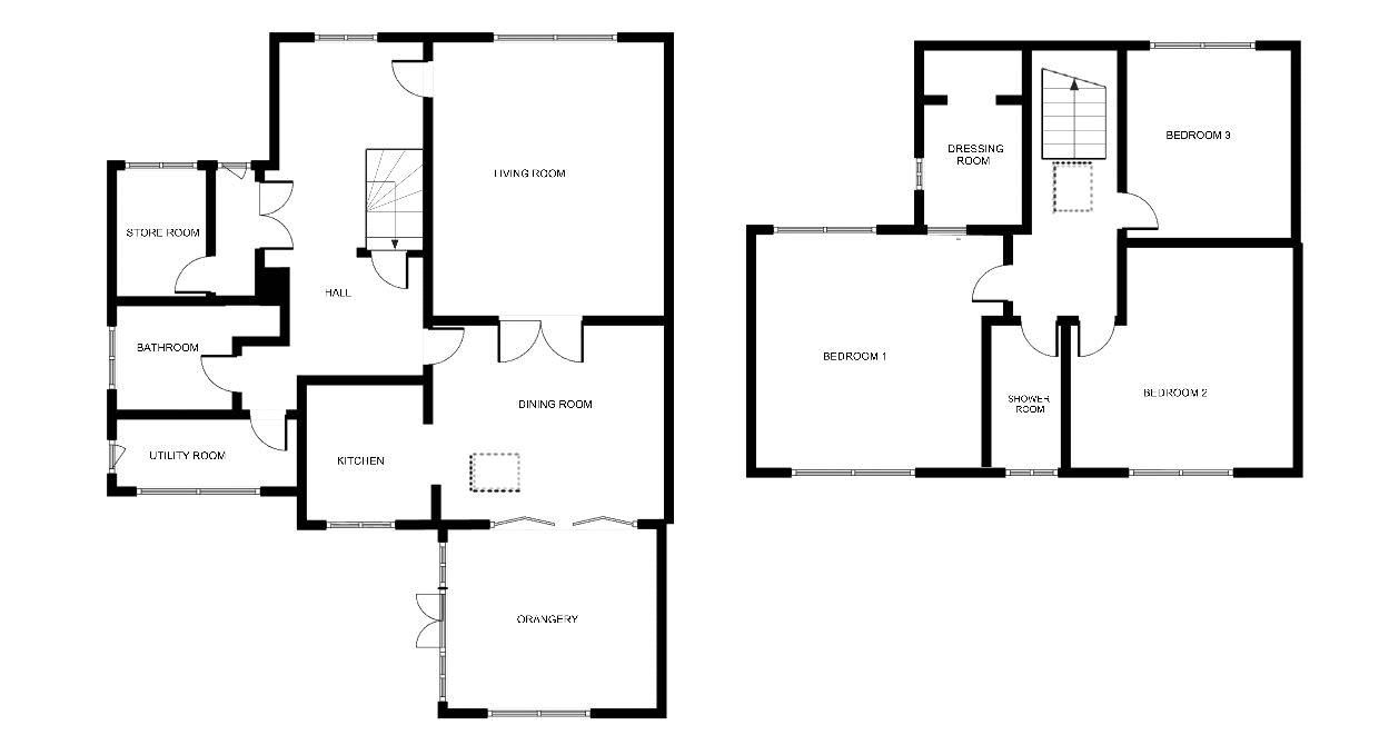 3 bed bungalow for sale in Bucklers Mead Road, Yeovil - Property Floorplan