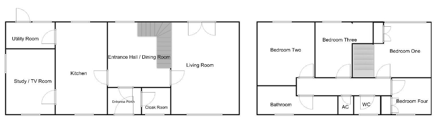 4 bed house for sale in Martock - Property Floorplan