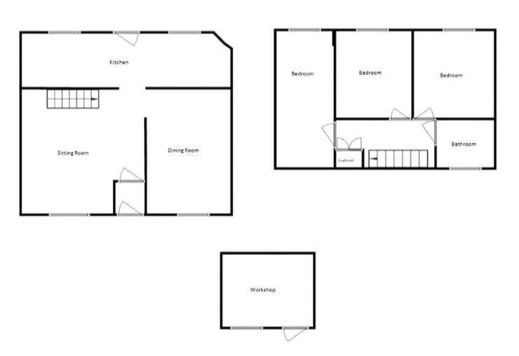 3 bed cottage for sale in Martock - Property Floorplan