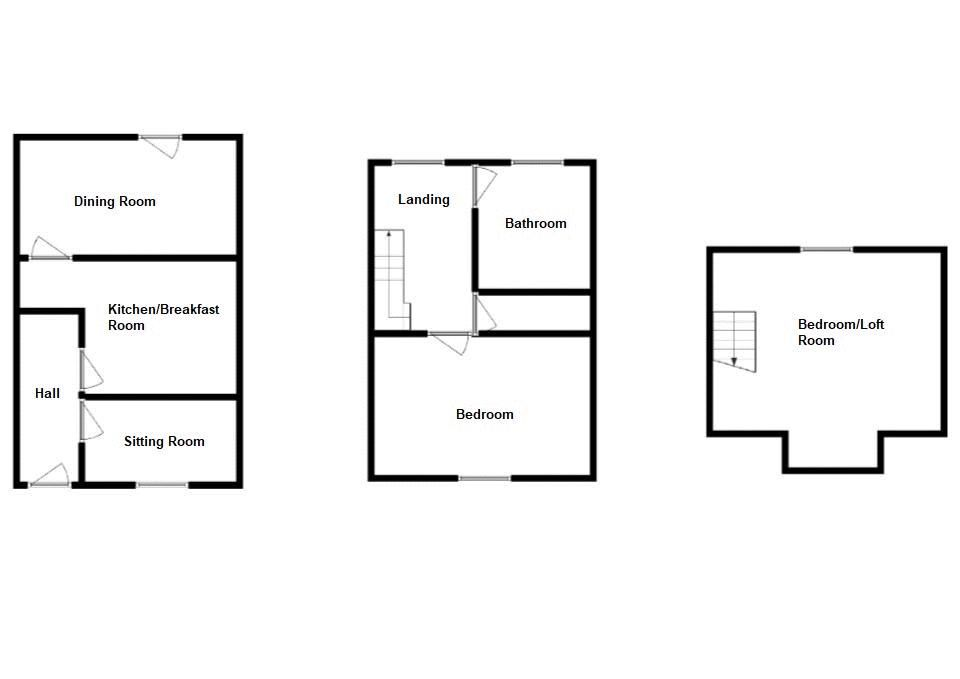 1 bed cottage to rent in Stoford - Property Floorplan