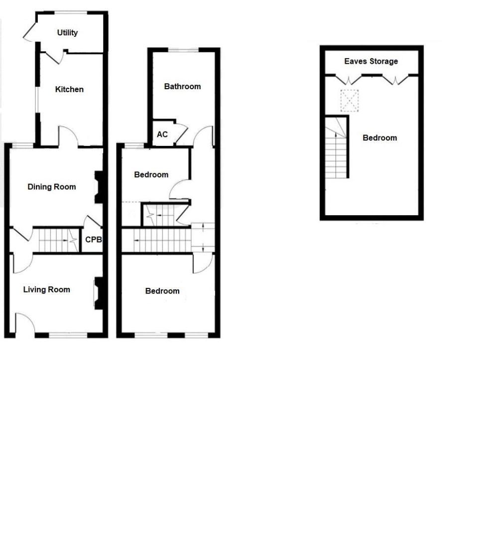 3 bed cottage for sale in Montacute - Property Floorplan
