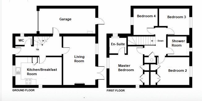 4 bed house for sale in Stoke-Sub-Hamdon - Property Floorplan
