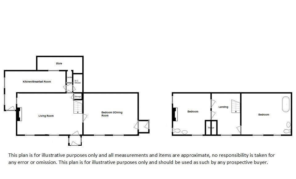 3 bed house for sale in Staffords Green, Corton Denham - Property Floorplan