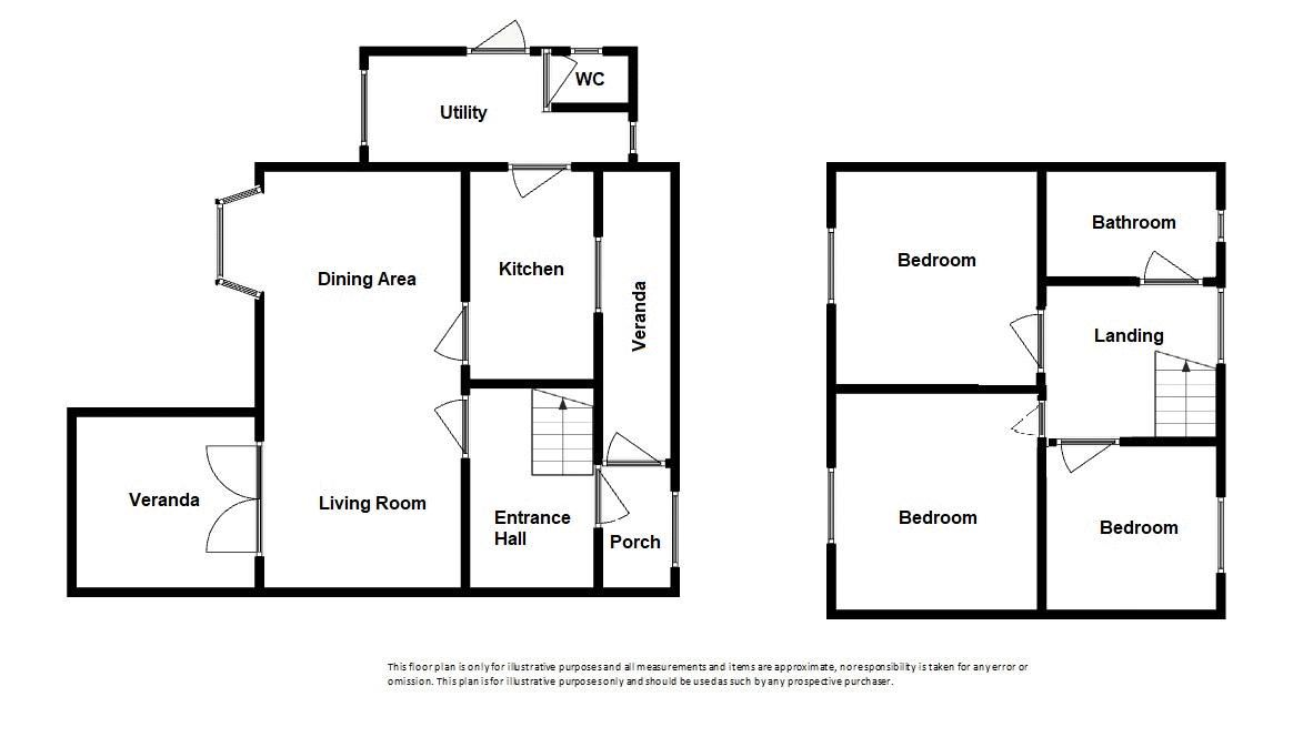 3 bed house for sale in Over Stratton, South Petherton - Property Floorplan