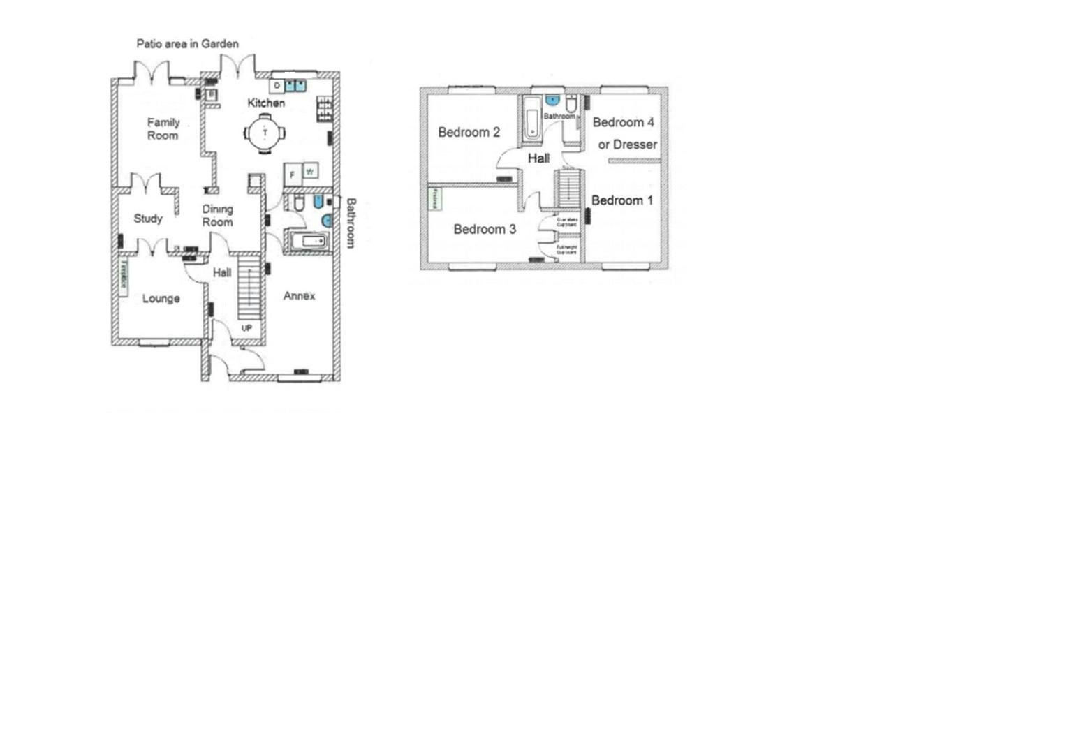 4 bed house for sale in South Petherton - Property Floorplan