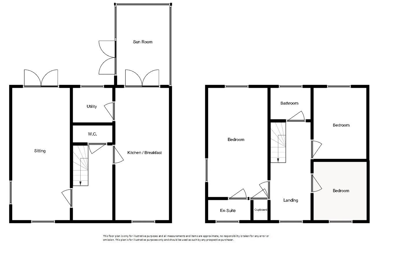 3 bed house for sale in Chapel Field, South Petherton - Property Floorplan