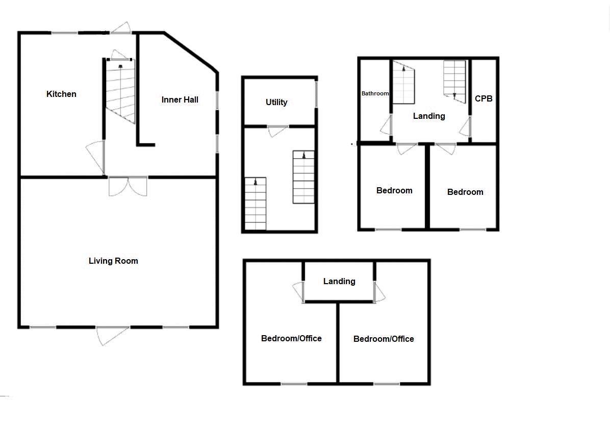 4 bed cottage for sale in Stoke-Sub-Hamdon - Property Floorplan