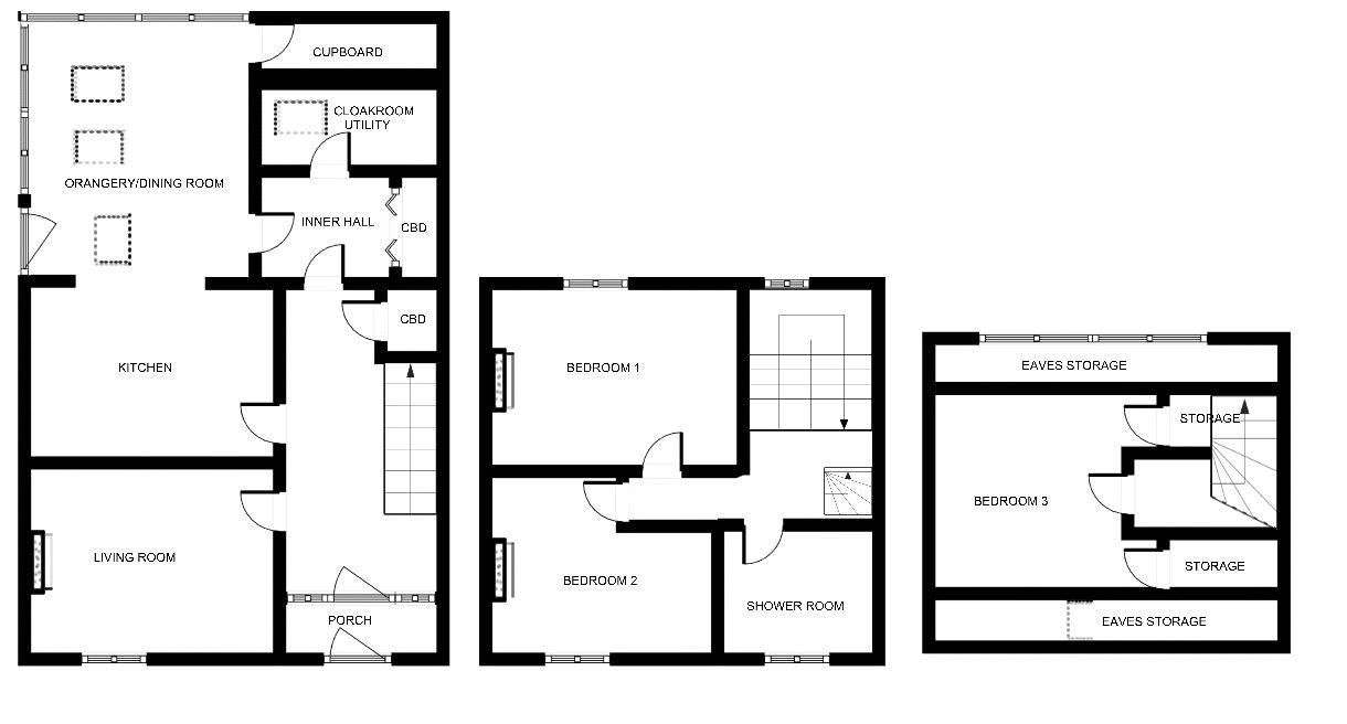 3 bed house for sale in Stoke-Sub-Hamdon, Somerset - Property Floorplan