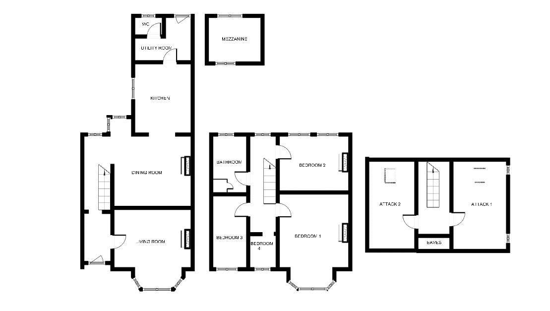 4 bed house for sale in Martock, Somerset - Property Floorplan