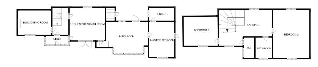 3 bed cottage for sale in Lower Chillington, Ilminster - Property Floorplan