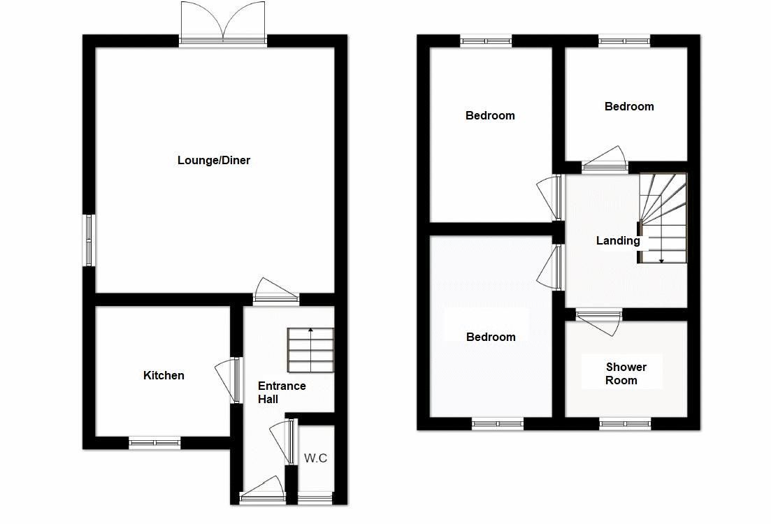 3 bed house for sale in South Petherton - Property Floorplan