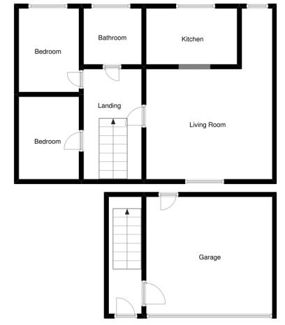 2 bed  to rent in Crewkerne - Property Floorplan