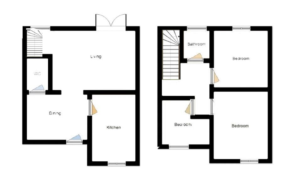3 bed house to rent in Stoke-Sub-Hamdon, Somerset - Property Floorplan