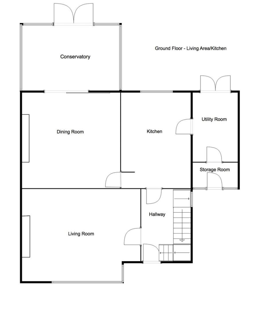 3 bed house for sale in Newborough Avenue, Llanishen, Cardiff - Property Floorplan