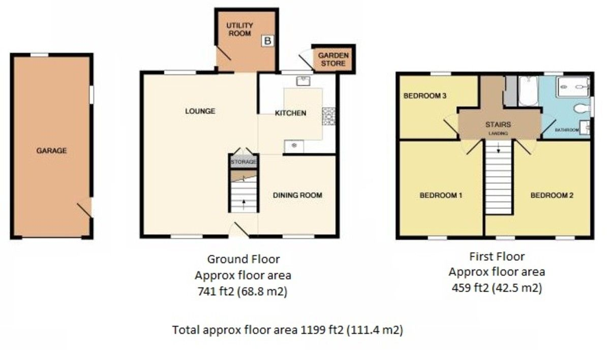 3 bed house for sale in Lone Road, Clydach, Swansea - Property Floorplan