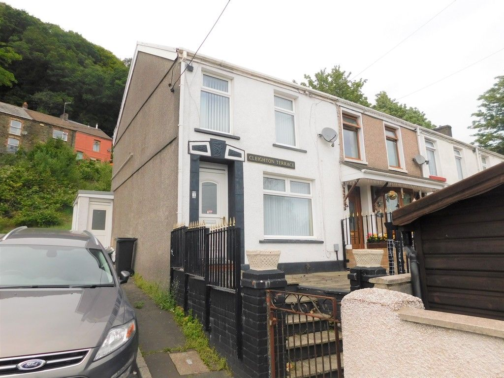 2 bed house for sale in Cleighton Terrace, Cadoxton, Neath, SA10